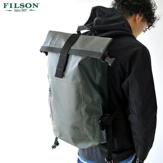 Filson Filson Dry Day Backpack And Waterproof Roll Top Day Pack 8094661058 Unisex Day Backpacks Backpacks Unique Backpacks