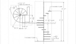 Spiral Staircase Measurements Stair Design Ideas Spiral Stairs Design Spiral Staircase Plan Stair Plan