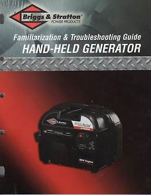Manuals And Guides 171208 Briggs Stratton Hand Held Generator Service Manual Buy It Now Only 22 79 On Ebay Manuals Gui Briggs Stratton Briggs Manual
