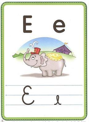 Alfabeto Ilustrado Com 4 Tipos De Letras Tipos De Letras