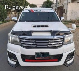 Toyota Hilux Vigo Champ Full Option 2012 Reg 2019 In 2020 Toyota