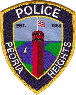 Peoria Heights Il Police Patch Illinois Police Patches Police Peoria