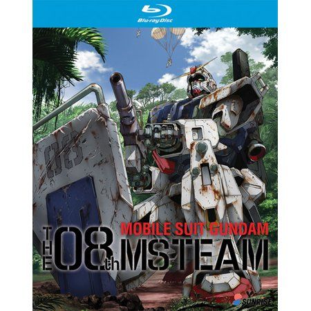 Mobile Suit Gundam 08th Ms Team Collection Blu Ray Walmart Com Gundam Ms Teams Mobile Suit