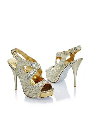 Crisscross Glitter Stiletto. shoes for new years eve to go with my new years eve nails