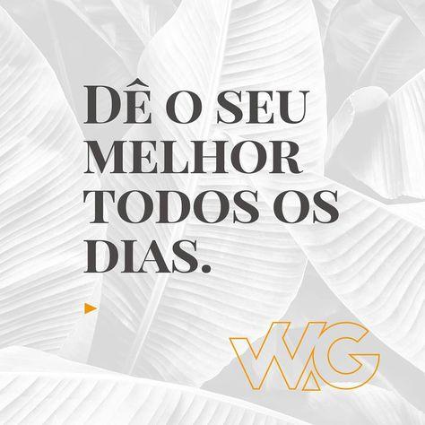 """W.Godoy l Agência de Design on Instagram: """"Acredite! Seja a diferença. . . . #invista #motivação #sejagrato #branding #empreendedorismo #sejaadiferença #gestaoempresarial…"""""""