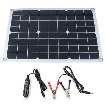 The Latest Waterproof And Snowproof Polysilicon 400w 5v 12 18v Dual Output Usb Solar Panel Flexib In 2020 Monocrystalline Solar Panels Solar Charger Solar Power Panels