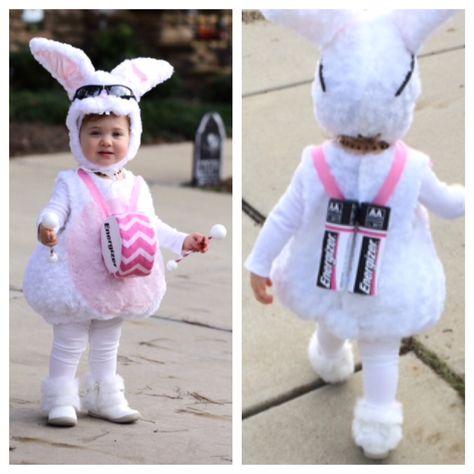 Handmade Energizer Bunny Costume