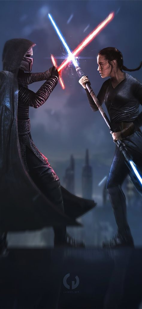 star wars ix duel of fates 4k iPhone 11 Wallpapers