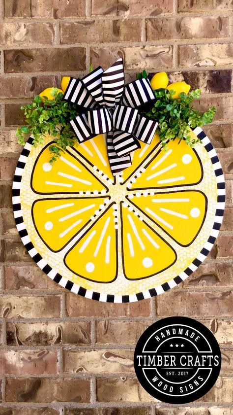 Lemon Door Hanger