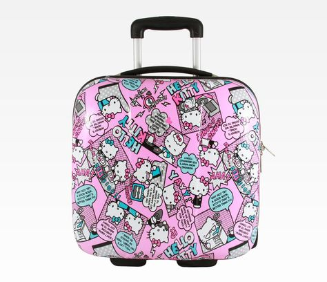 Sunny Kitten Print Luggage Identifiers with Strap Closure