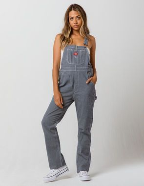 Dickies Carpenter Hickory Stripe Overalls Dickies Carpenter Hickory Stripe Overalls Dickies Carpenter Hickory Stripe Overalls Women Overalls Outfit Overalls
