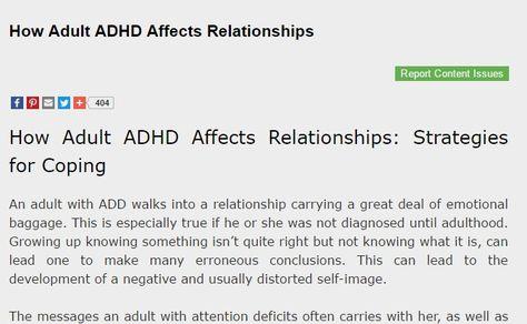 problem dating någon med ADHD 20 dejting 28