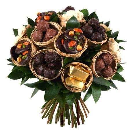 Bouquet De Chocolats D Aquarelle Bouquet De Chocolats Fleur En
