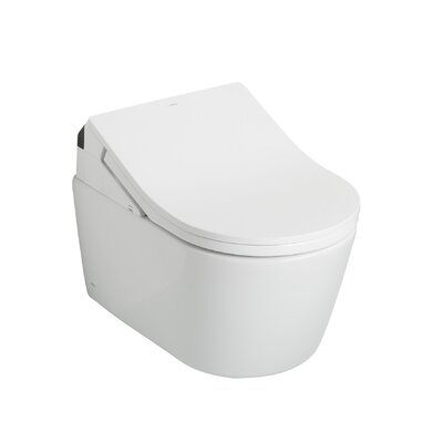 Toto Toto Rp Washlet Wall Hung Toilet Bowl 1 28 And 0 9 Gpf With Cefiontect Cotton White Ct447cfgt60 01 Wall Hung Toilet Toilet Cleaning Toilet Bowl
