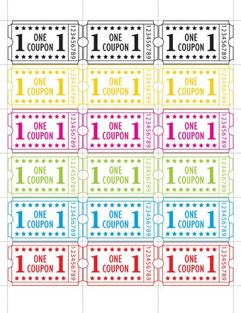 2000\/Roll Single Tickets Carnival Pinterest - blank printable tickets