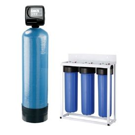 Multimedia Filtration System Frp Vassel Full Automatic System Auto Back Wash 20 5 Micron Sediment Prefilter Water Treatment Shower Water Filter Water Purifier