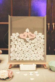 Rustic Wedding Guestbook Alternative Guest Book Drop Top | etsy ...