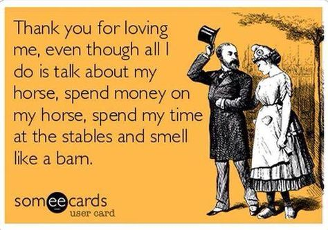 Lol just Kiddn I love u the most baby I can't beleive we have 5 horses your so amazing your the best hubby ever!!!!