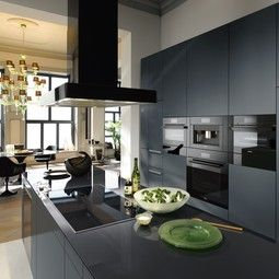 Miele  Obsidian Black  Kitchen Before And After  Pinterest Impressive Miele Kitchens Design Inspiration Design
