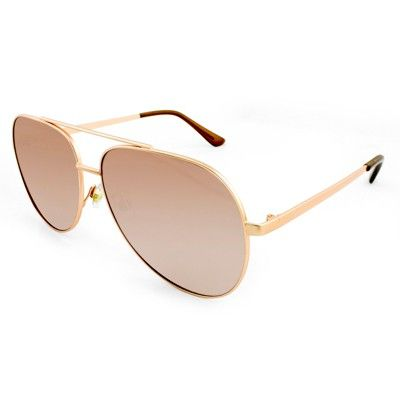 1a386463ec3 Women s Aviator Sunglasses with Blush Lenses - Wild Fable Gold ...