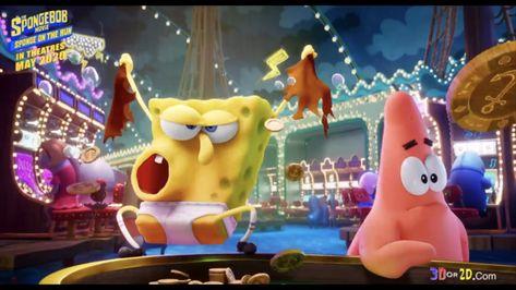Paramount pictures reveals Spongebob Squarepants Sponge on the Run Big Game Spot