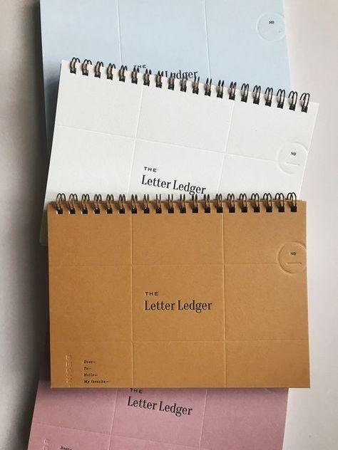 The Letter Ledger 3.0 — PAPER & TYPE