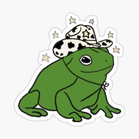 Photo Wall Collage, Collage Art, Art Hippie, Arte Indie, Frog Drawing, Art Mignon, Arte Sketchbook, Frog Art, Cute Frogs