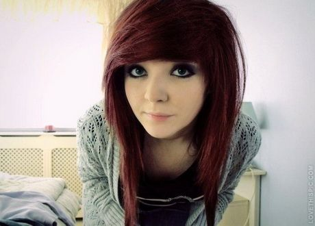 Emo Hairstyle Tutorial For Girls Foto Video Short Emo Hair Medium Hair Styles Hair Styles