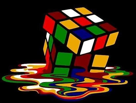 Image Result For Melting Rubik S Cube Quilt Pattern Optical Illusion Quilts Quilt Patterns Art Quilts