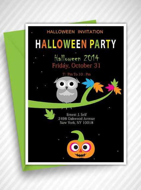 halloween invitation template free pdf download invitations template pinterest invitation templates and graphics - Free Halloween Invite Templates