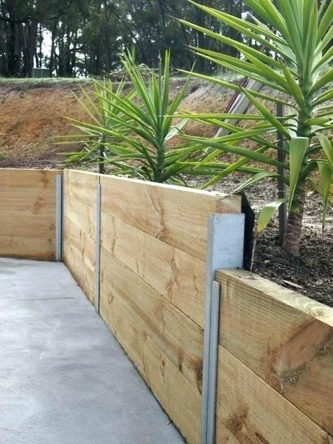 Inexpensive Retaining Wall Ideas Retaining Garden Wall Ideas Awesome Retaining W Garden Retaining Wall Landscaping Retaining Walls Diy Retaining Wall
