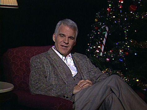 Steve Martin\u0027s Christmas Wish- I watched Saturday night live (old