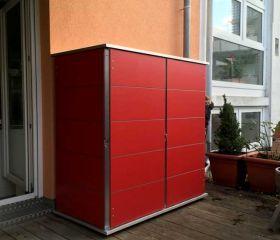 Gartenschrank Metall Kunststoff Garten Q Gmbh In 2020 Gartenschrank Gartengerateschrank Schrank