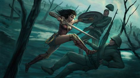 Wonderwoman Artwork Wallpaper, HD Movies 4K Wallpapers, Images, Photos and Background