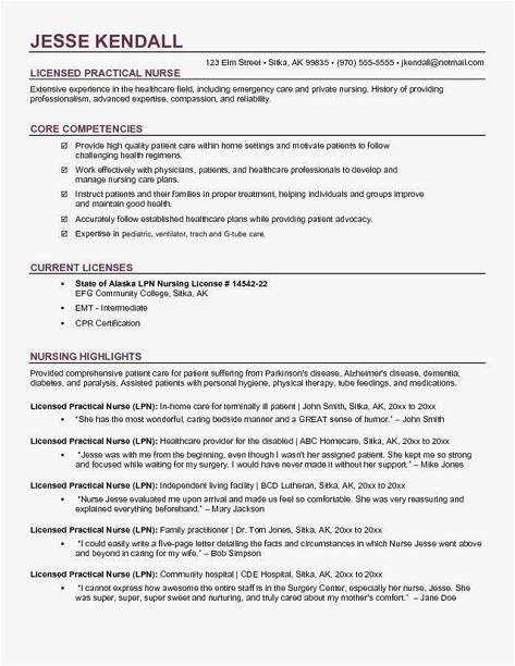 65 Cool Photos Of Sample Resume for Nurses In Usa | Nursing ...