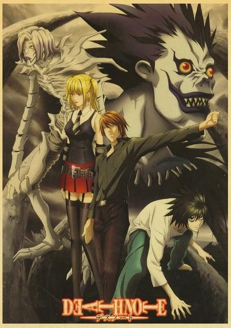 Death Note Posters Retro Posters - Q027 6
