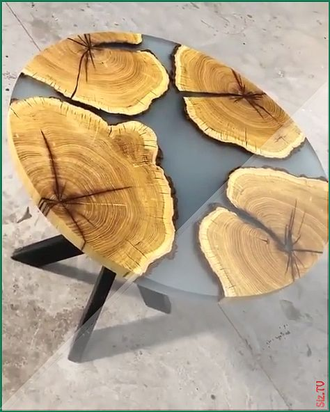 Is this the perfect Mulberry resin coffee table? via holz videos Perfect Mulberry Resin Coffee Table