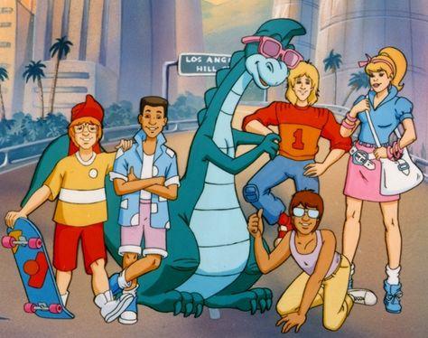 Denver O Dinossauro Cartoon Cartoon Desenhos Hanna Barbera