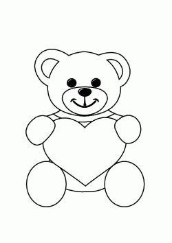 Ayi Boyama Sayfasi Bear Coloring Page Colorear De Oso Stranica
