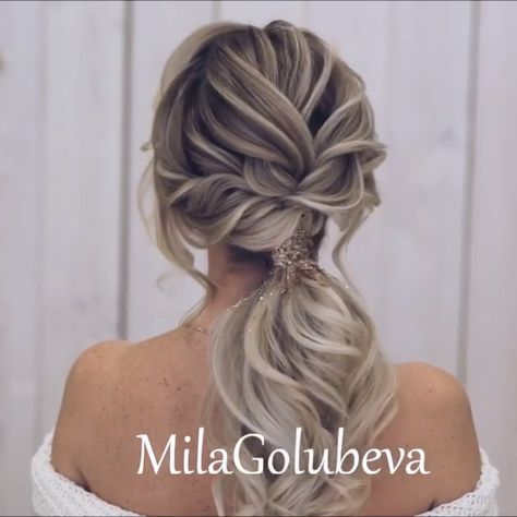 Do you wanna see more fab hairstyle ideas and tips for your wedding? Then, just visit our web site babe! #hairtutorial #braidtutorials #hairvideo #videotutorial #updotutorial #updoideas #weddinghair #bridalhair