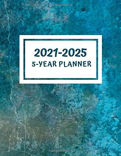5 Year Planner 2021 2025 5 Year Appointment Calendar 2021 2025 Personal Business Planner Agenda Yearly In 2020 Business Planner Yearly Planner Business Person