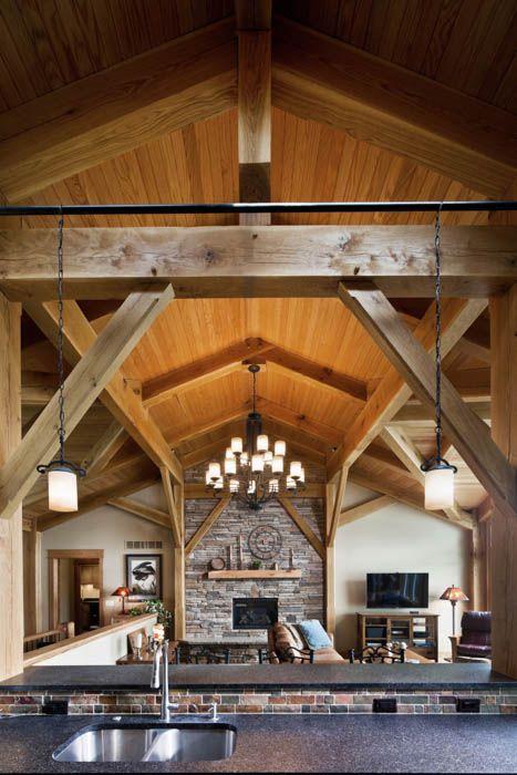 Kalamazoo Residence Timber Frame Homes Timber Framing Timber Beams