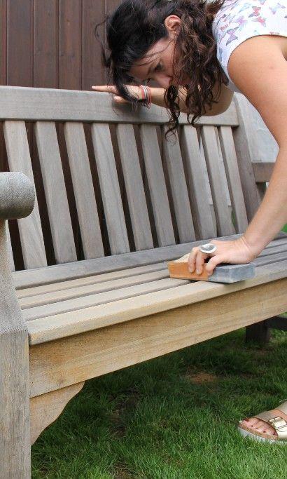 Teakholz Schleifen Teakholzschleifen Teakmobel Gartenmobeltipps Gartenmobel Holz Impragnieren Teak Gartenmobel Teak Holz