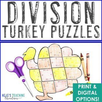 Pin On 5th Grade Classroom Thanksgiving division worksheets 5th