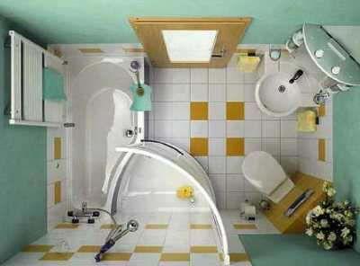 Minibad Mit Dusche Wanne Wc Und Waschplatz