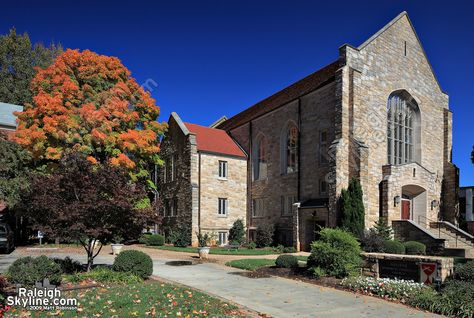 Hillyer Church With Fall Colors In Raleigh North Carolina Real Estate Houses Fall Colors Nc Real Estate