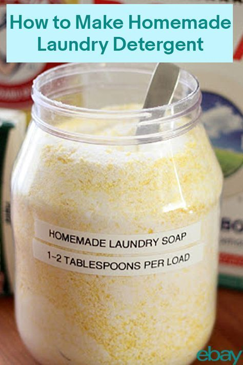 Laundry Detergent Can Be Super Pricy But With A Little Diy Magic