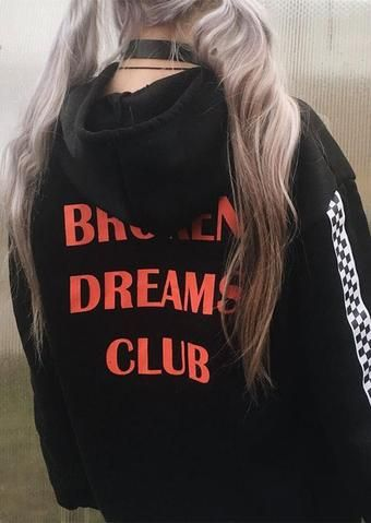 69188d2a220d2 Broken Dreams Club Hoodie | mood | Fashion, Aesthetic clothing ...
