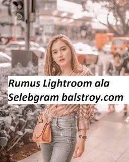 Rumus Edit Lightroom Ala Selebgram : rumus, lightroom, selebgram, Rumus, Lightroom, Selebgram, Lightroom,, Vignette,, Fotografi