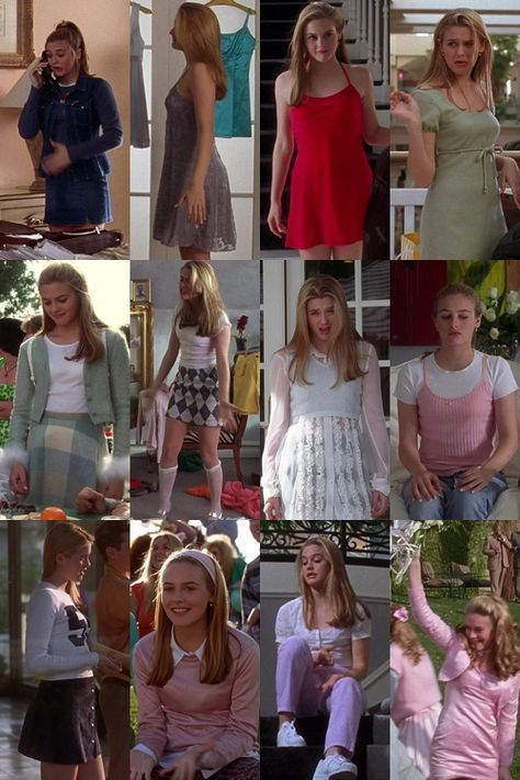 In the Cher Horowitz from Clueless was THE style icon! Which outfits from her - Movies list for you - Deni - In the Cher Horowitz from Clueless was THE style icon! Which outfits from her – Movies list for you – Source by lalapeulecke - Fashion 90s, Clueless Fashion, Preteen Fashion, Fashion Outfits, Clueless 1995, Cher Clueless Outfit, Clueless Style, Cher From Clueless, Dionne Clueless Outfits